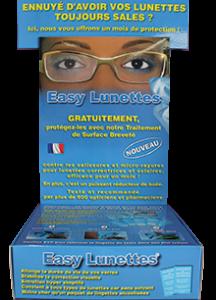 protection traitement nettoyage verres de lunettes